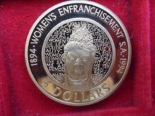 AUSTRALIA 5 DOLLARS 1984-1994 WOMEN'S ENFRANCHISEMENT