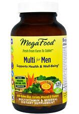 Megafood Multi for Men 120 vitamin tablets