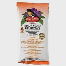 New! Perky Pet 8oz Instant Bird ORIOLE Nectar Food Concentrate Orange Flavor 283