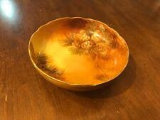 Candy bowl pine cone design,antique marked Vienna Austria,7 1/2�Vg original con.