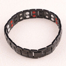 Mens Titanium Strong Magnetic Bracelet Bio Therapy Arthritis Health Pain Relief