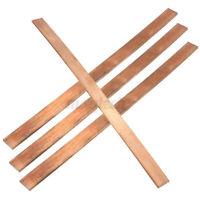 T2 Kupfer Flachstab Kupferstange Kupferplatte 3//4//5//6//8//10//12mm dick Flachstange