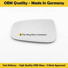 Left Side Covex Wing Mirror Glass For Hyundai IX20 Fits to Reg 06-10 To 06-15