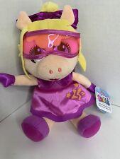 "Disney Junior Muppet Babies Super Fabulous Miss Piggy Plush 6"""
