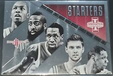 James Harden/Houston Rockets 2013-14 Innovation STARTERS Insert Card (no.28)