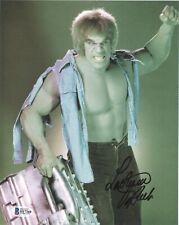 Incredible Hulk Signed LOU FERRIGNO 8x10 Photo w/ Beckett BGS COA
