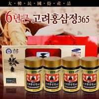 Extrait de ginseng rouge coréen de 6 ans 365 240g Korean 6 Years Old Red Jinseng