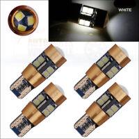 4pcs LED 168 194 2825 T10 3030 19SMD White Bulbs Interior License Plate Lights