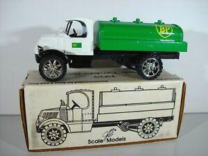 ERTL BP 1935 Mack Tanker Truck 1/25 Diecast Coin Bank Mint in Box
