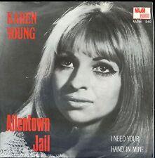 7inch KAREN YOUNG allentown jail HOLLAND 1969 NEAR MINT