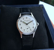 Men's Vintage BAUME & MERCIER  Geneve 50es . militar style dress Wrist Watch.