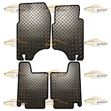 MITSUBISHI SHOGUN/PAJERO LWB 92-00 FULLY TAILORED 3MM RUBBER HEAVY DUTY MATS