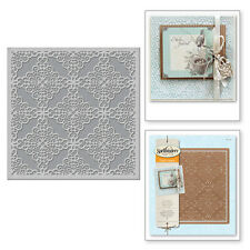 SPELLBINDERS LACE AND FRILLS CARD CREATOR  CUT AND DEBOSS DIE S6-038