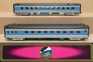 MTH Premier 20-6634 EMD 2-Car Passenger Set O-Gauge LN