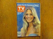 March-1978 TV Guide(LINDSAY  WAGNER/THE BIONIC  WOMAN/ERNIE THOMAS/JOHN TRAVOLTA
