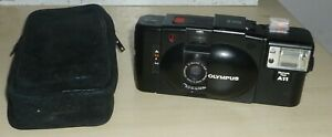 Olympus XA2 + A11 Flash, Classic Clam Shell 35mm Film Camera