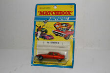 MATCHBOX SUPERFAST #51 CITROEN SM, BRONZE, CREAM INTERIOR, NEW IN PACK