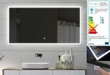 Design Badzimmerspiegel LED mit Beleuchtung TOUCH SCHALTER 140x60cm SAM140X60
