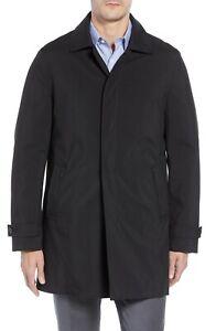 Cardinal of Canada Men's Water-repellent Raincoat Black Size M $395