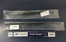 2006-2007 Subaru Tribeca B9 Front & Rear Windshield Wiper Blades Set Genuine OEM