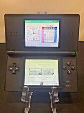 Nintendo DS Lite Handheld Console - Black 2006 USG-001 Works