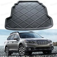 Black Car Rear Trunk Mat Cargo Boot Liner Tray Fit for Subaru Outback 2015-2016