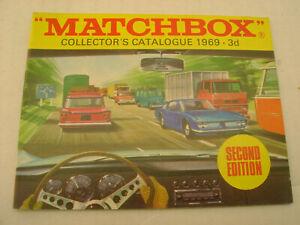 1969 MATCHBOX LESNEY COLLECTOR'S CATALOGUE 3d SECOND EDITION