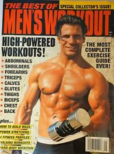 BEST OF MEN'S WORKOUT MAGAZINE 1997 RARE, OUT-OF-PRINT GLENN KAUFFMAN COVER