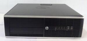 PC DESK COMPUTER HP FISSO SFF 6305 PRO A8-5500B HDD 500GB RAM 8GB WIN 10 PRO