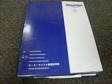 2015-2017 Triumph Trophy SE 1200 Motorcycle Shop Service Repair Manual 2016