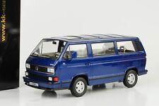 Volkswagen 1992 Bus VW T3 Multivan Last Edition blau metallic 1:18 KK Diecast