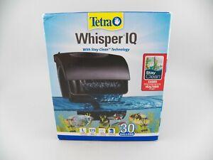 Tetra Whisper IQ Power Filter 30 Gallon 175 GPH w/Stay Clean Technology Fishtank