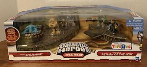 Playskool Star Wars Galactic Heroes-Jabba's SAIL BARGE- Slave Leia Max Rebo TRU
