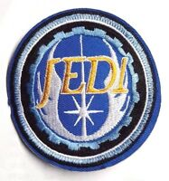 "Vintage Star Wars JEDI Logo Blue 3.25"" Patch- USA Mailed (SWPA-CD-89)"