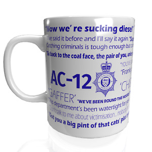 Line of Duty Police Show Novelty Mug AC12 Christmas Birthday Present Fun Quote