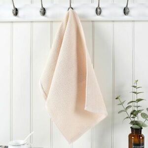 1PC 100% Cotton Hand Towels For Adults Plaid Hand Towel Face Care Waffle Towel