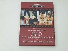 SALO' E LE 120 GIORNATE DI SODOMA - BOX DVD DIGIPACK PRIMA ED. OTTIME COND.V.M18