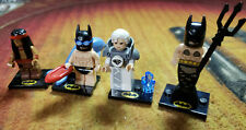 Lot 4 Lego Minifigures batman Movie Series 2 Jor-El Apache Swimsuit Mermaid