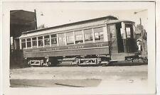 HYDRO ELECTRIC RAILWAYS Trolley BANGOR ME 1931 Maine Photograph