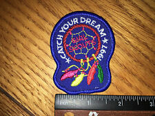 Girl Scout Cookie Patch-Catch Your Dream 1997 Girl Scouts- New