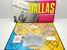 Vintage DALLAS Board Game of Empire Building Strategy Maruca 1985 80s TV 99.9%