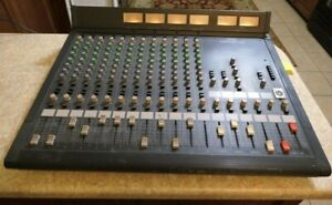 Vintage Yamaha MR1242 Mixing Mixer Console 12 Input Channels