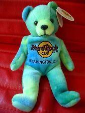 HRC Hard Rock Cafe Washington Monty Bear Beara Bär Teddy Herrington LE