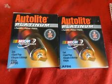 Autolite AP86 Platinum Spark Plug Set of 8