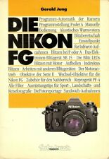 "Gerold Jung ""Die Nikon FG"" book German"