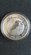 2015 Australian Kookaburra Goat Privy 1 oz .999 Fine Silver Coin Uncirculated
