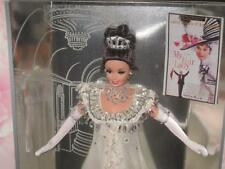 1996 ELIZA DOOLITTLE Barbie White Sequin Embassy Ball Dress My Fair Lady 15500