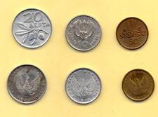 10-20&50 Lepta 1973-B L@@K, PHOENIX OLIVE BRANCH SOLDIER JUNTA {Set of 3 Coins}