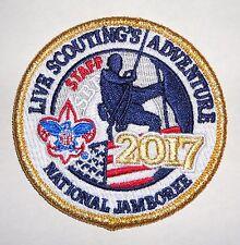 2017 National Boy Scout Jamboree Official Uniform Staff Patch