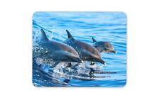 Nuoto DELFINI Tappetino Mouse Pad-DELFINO acqua di mare spuma DELLE ONDE PC COMPUTER #8434